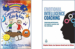 Confidence for Kids by Kids and Emotional Intelligence Coaching: Improving Performance for Leaders, Coaches and the Individual book covers